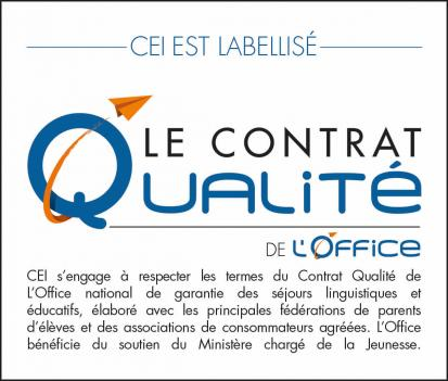 CEI garantie contrat qualité Office